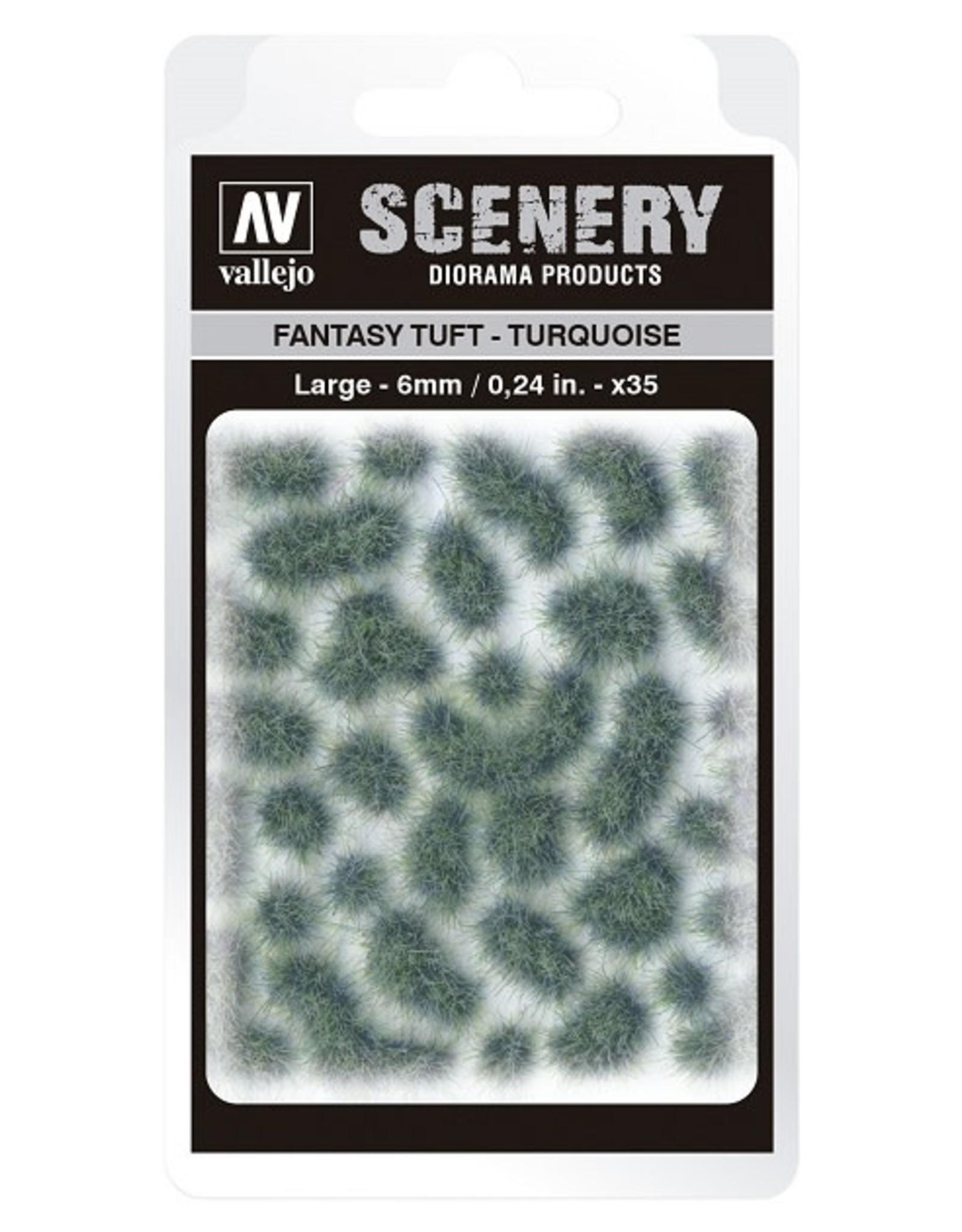 Vallejo Vallejo: Scenery - Fantasy Tuft - Turquoise Large 6mm