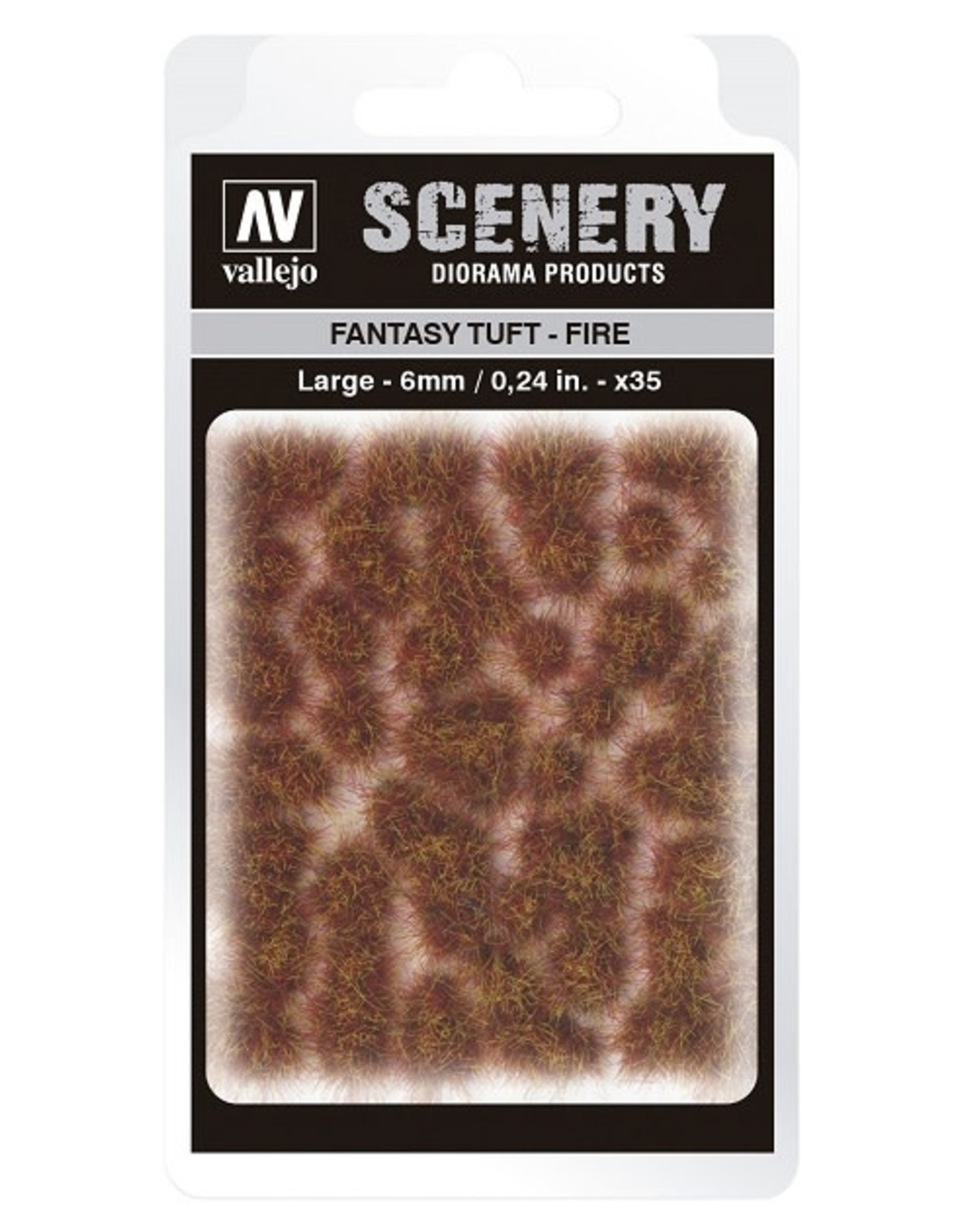 Vallejo Vallejo: Scenery - Fantasy Tuft - Fire Large 6mm