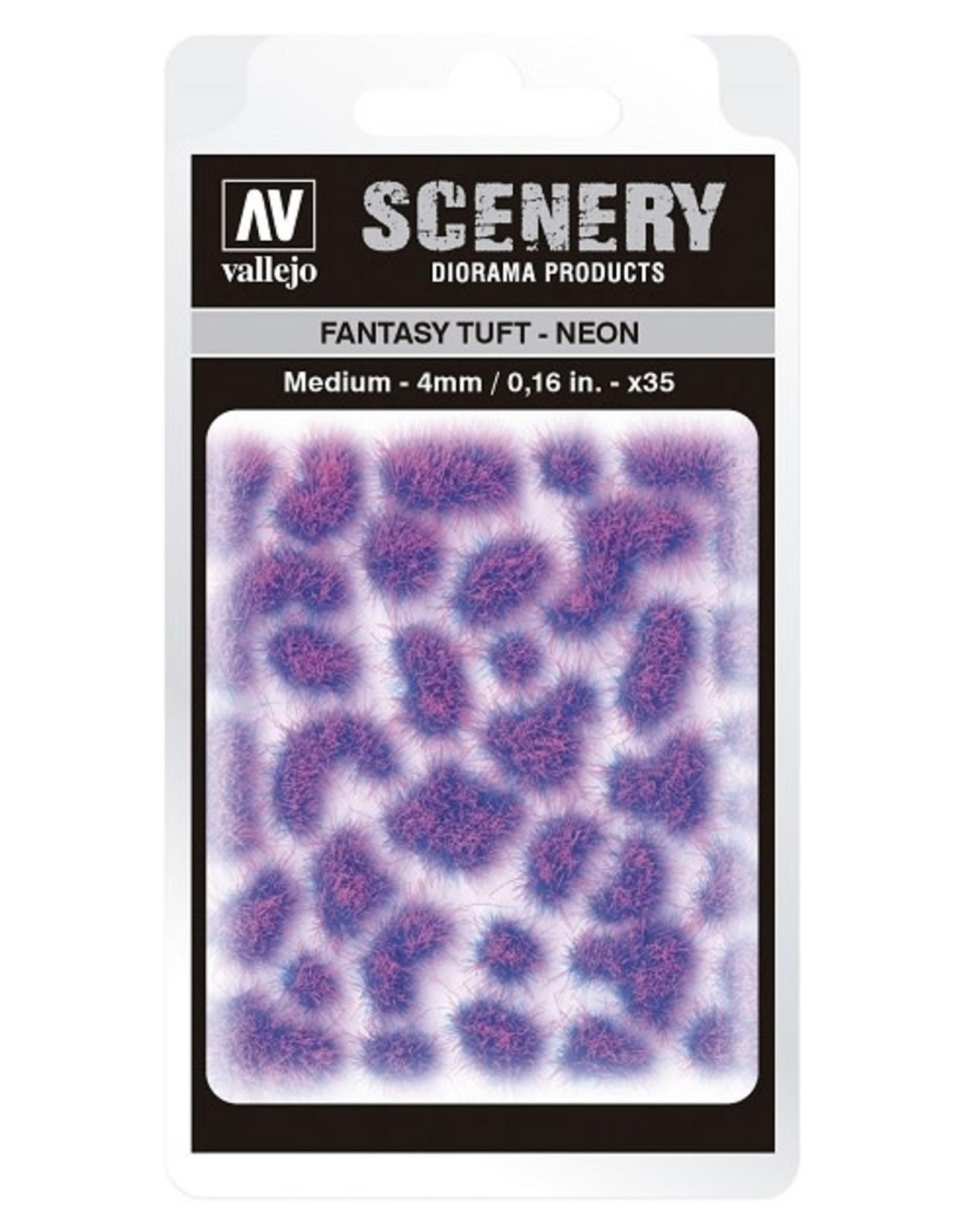 Vallejo Vallejo: Scenery - Fantasy Tuft - Neon Large 6mm