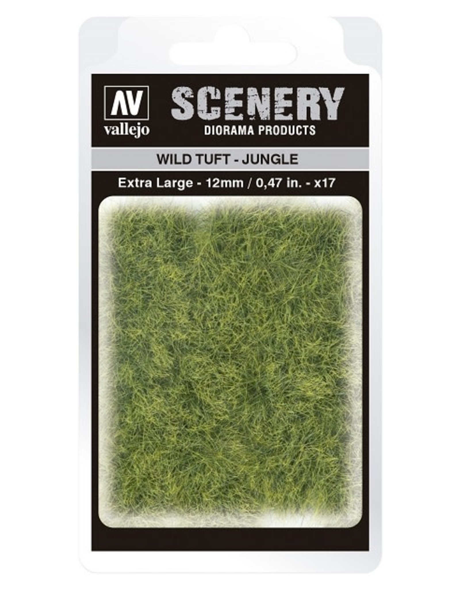 Vallejo Vallejo: Scenery - Wild Tuft - Jungle Extra Large 12mm