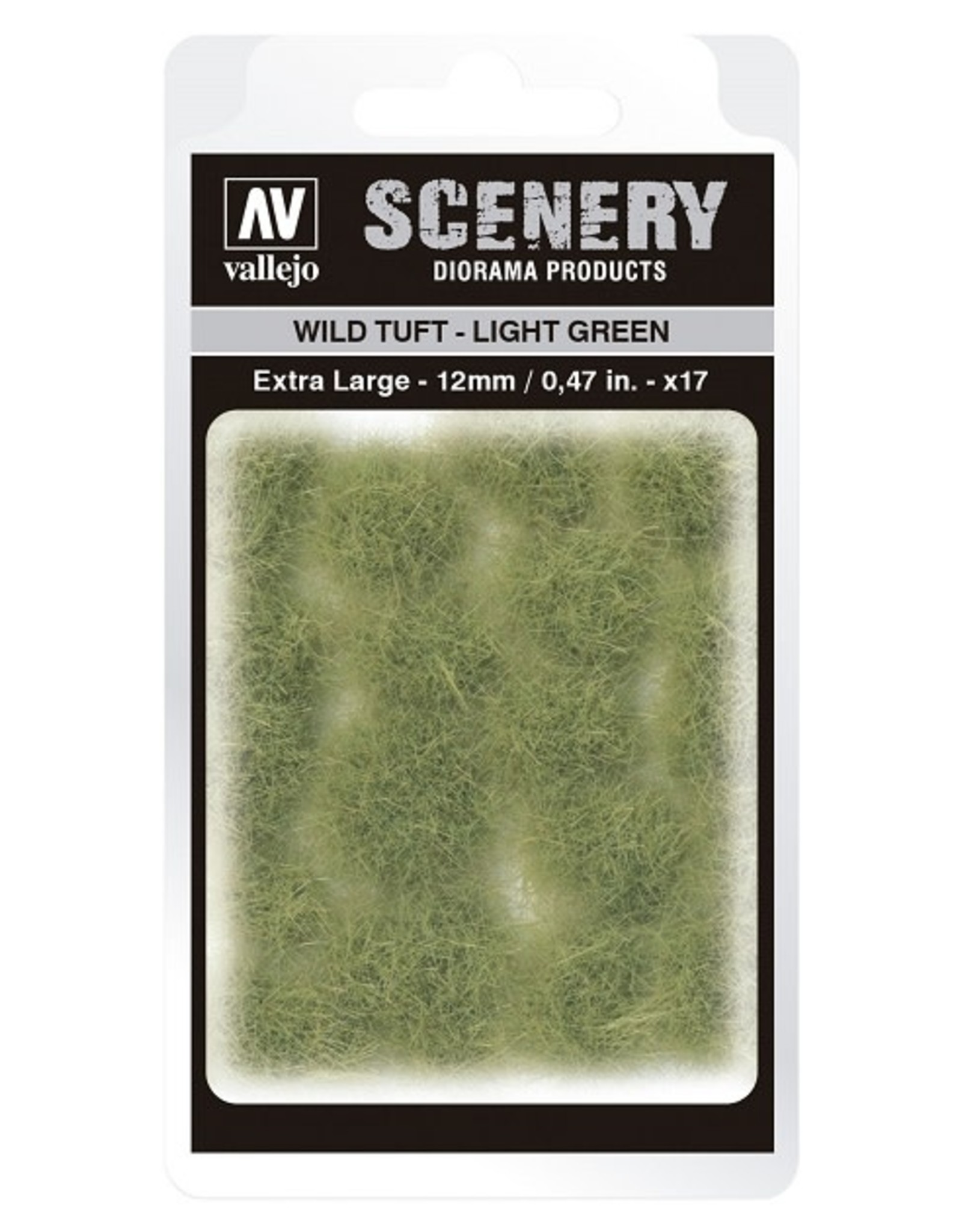 Vallejo Vallejo: Scenery -  Wild Tuft - Light  Green Extra Large 12mm