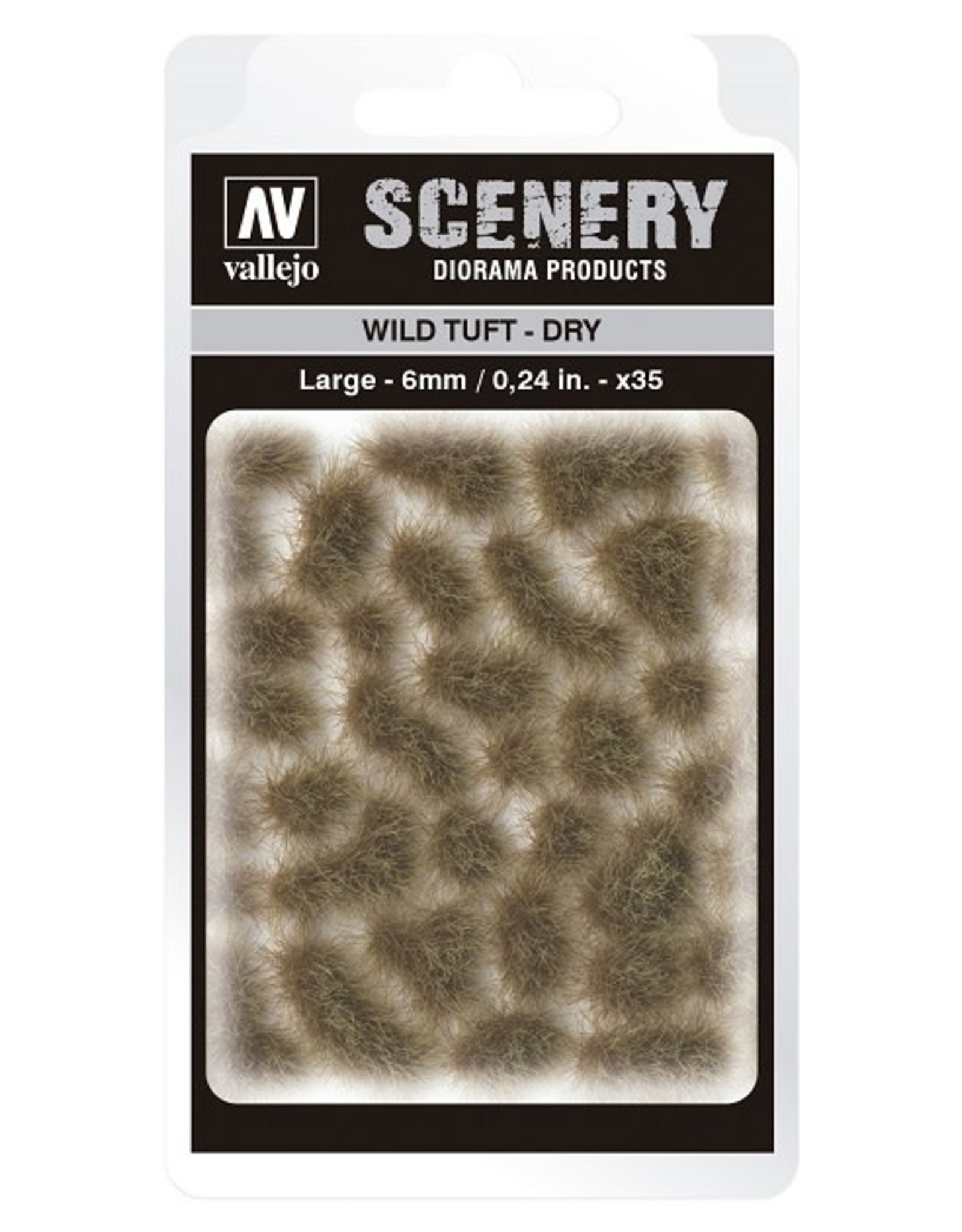 Vallejo Vallejo: Scenery -  Wild Tuft - Dry Large 6mm