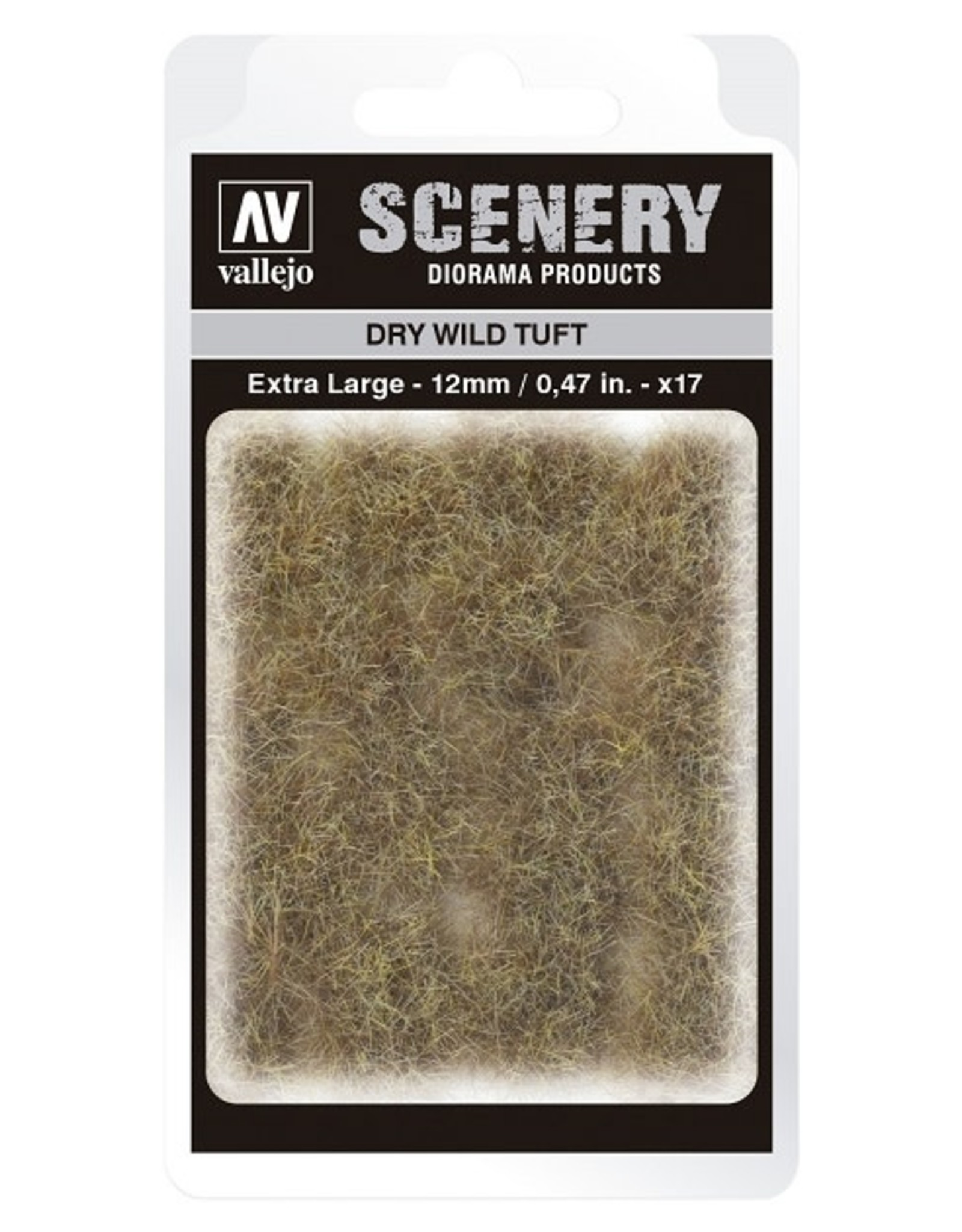Vallejo Vallejo: Scenery -  Wild Tuft - Dry Extra Large 12mm