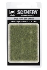 Vallejo Vallejo: Scenery -Wild Tuft - Dry Green  Extra Large 12mm