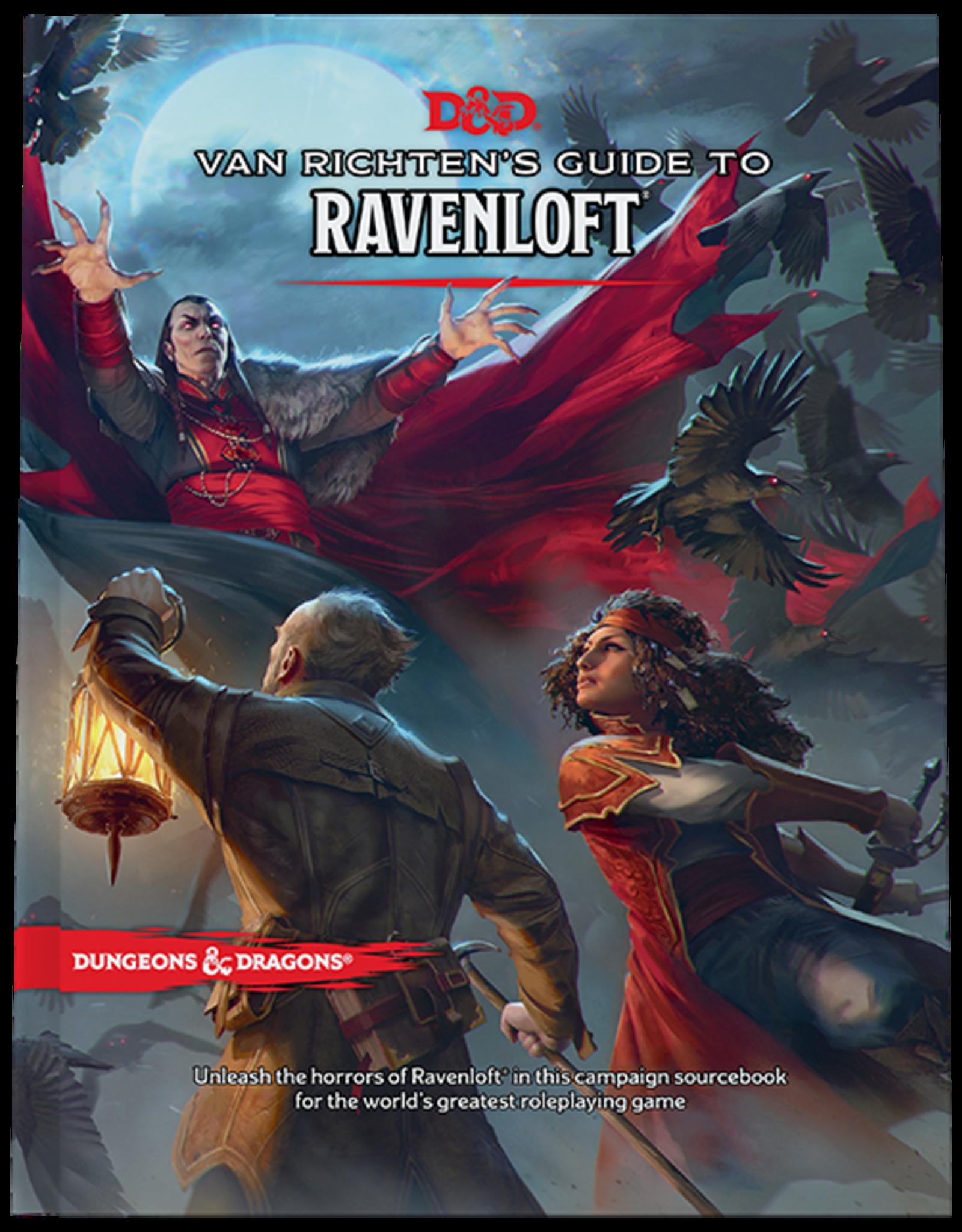 Wizards of the Coast Van Richten's Guide to Ravenloft - Regular Art