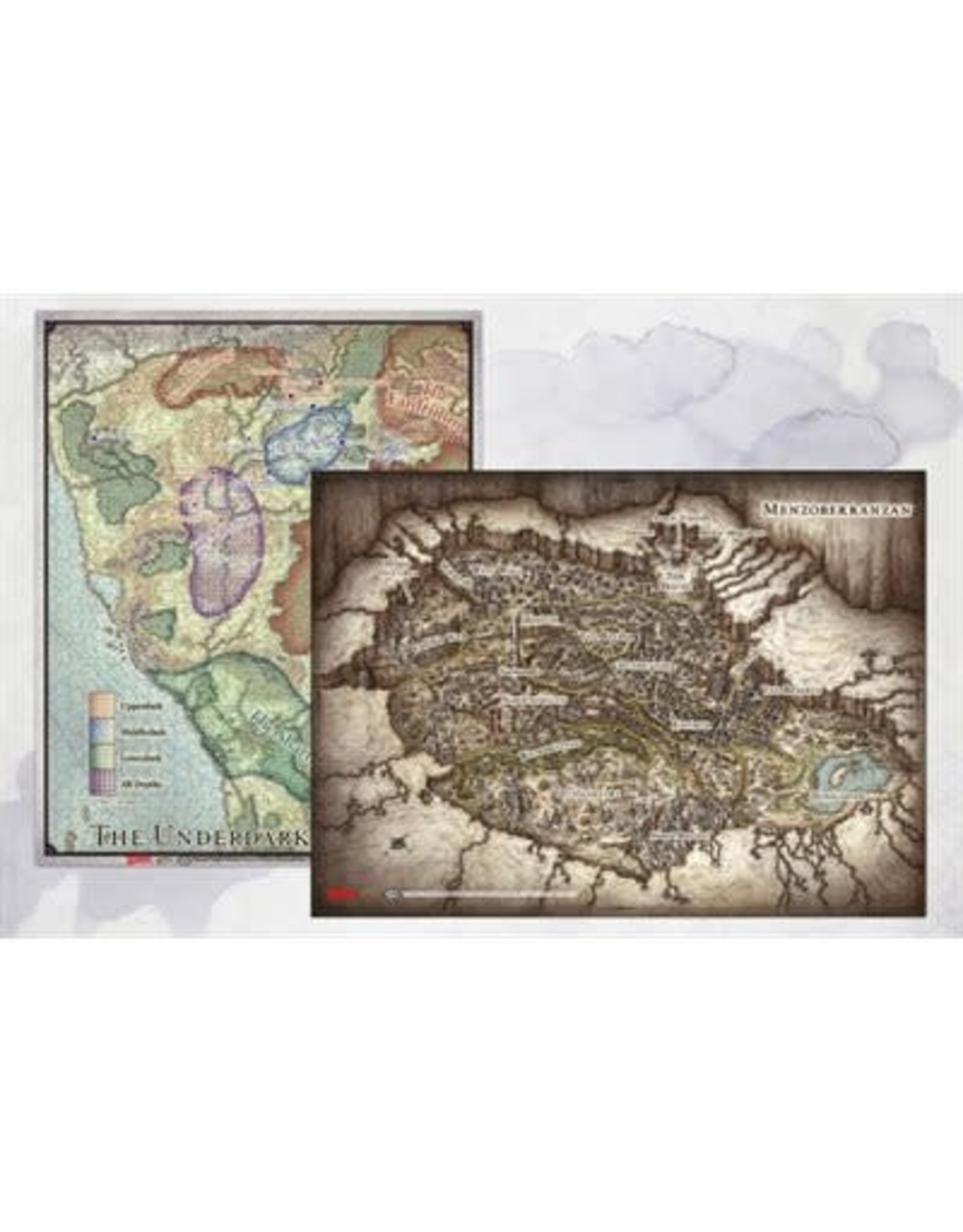 Gale Force 9 Dungeons & Dragons: Out of the Abyss Map Set