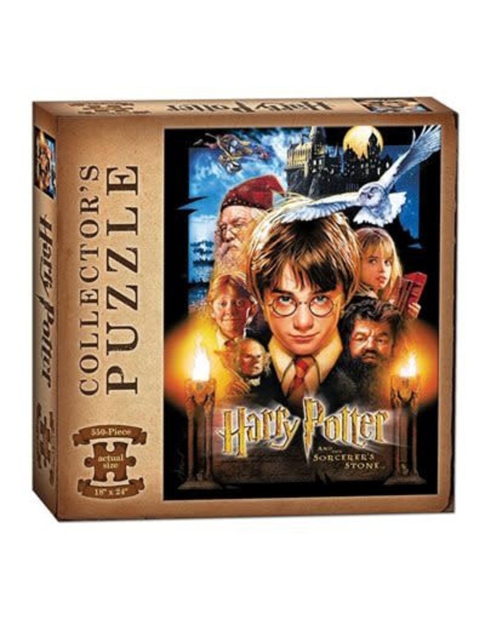 USAopoly Harry Potter and the Sorcerer's Stone 550 Piece Puzzle