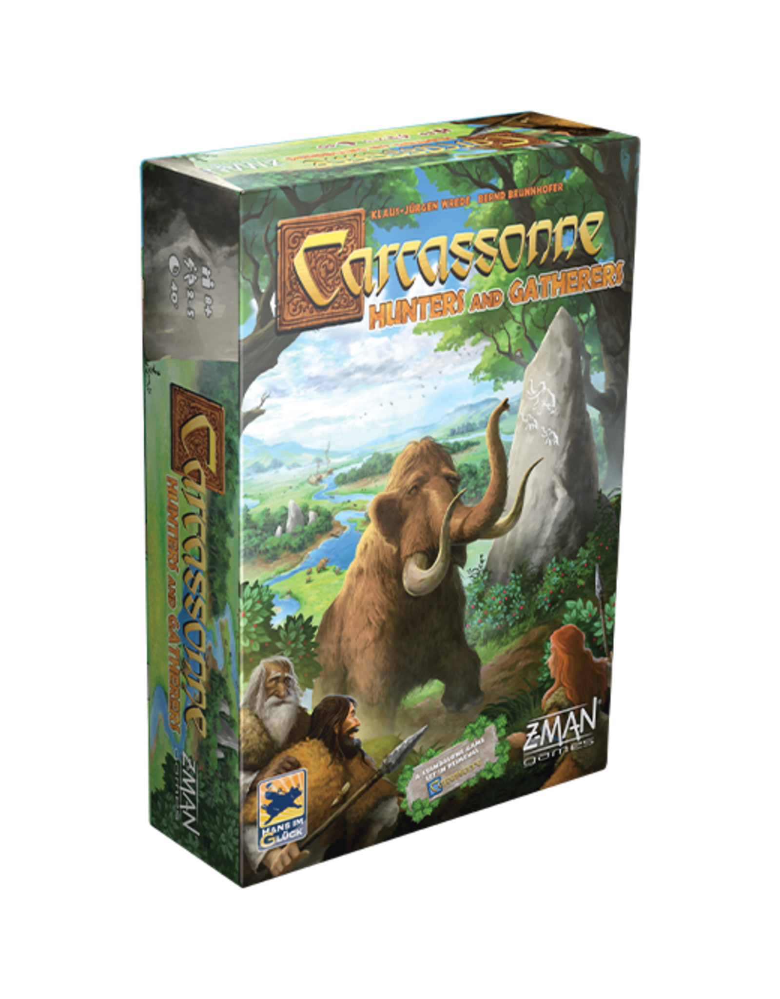 Z-Man Games Carcassonne - Hunters and Gatherers