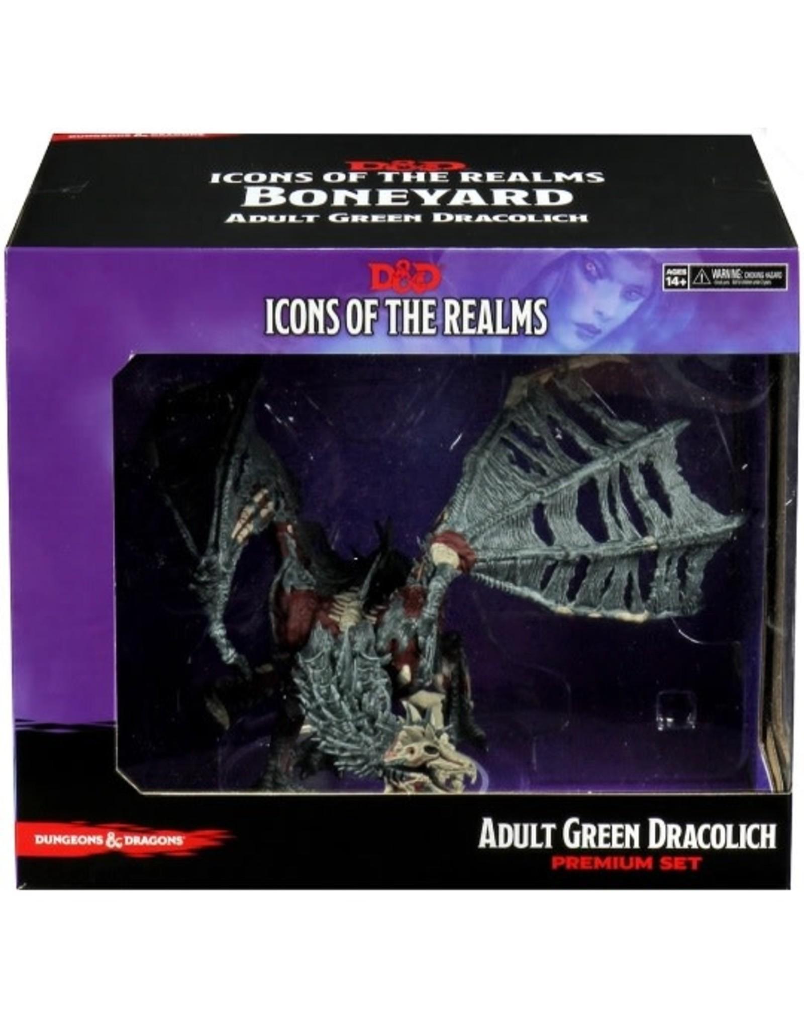 WizKids D&D Icons 18: Boneyard Green Dracolich