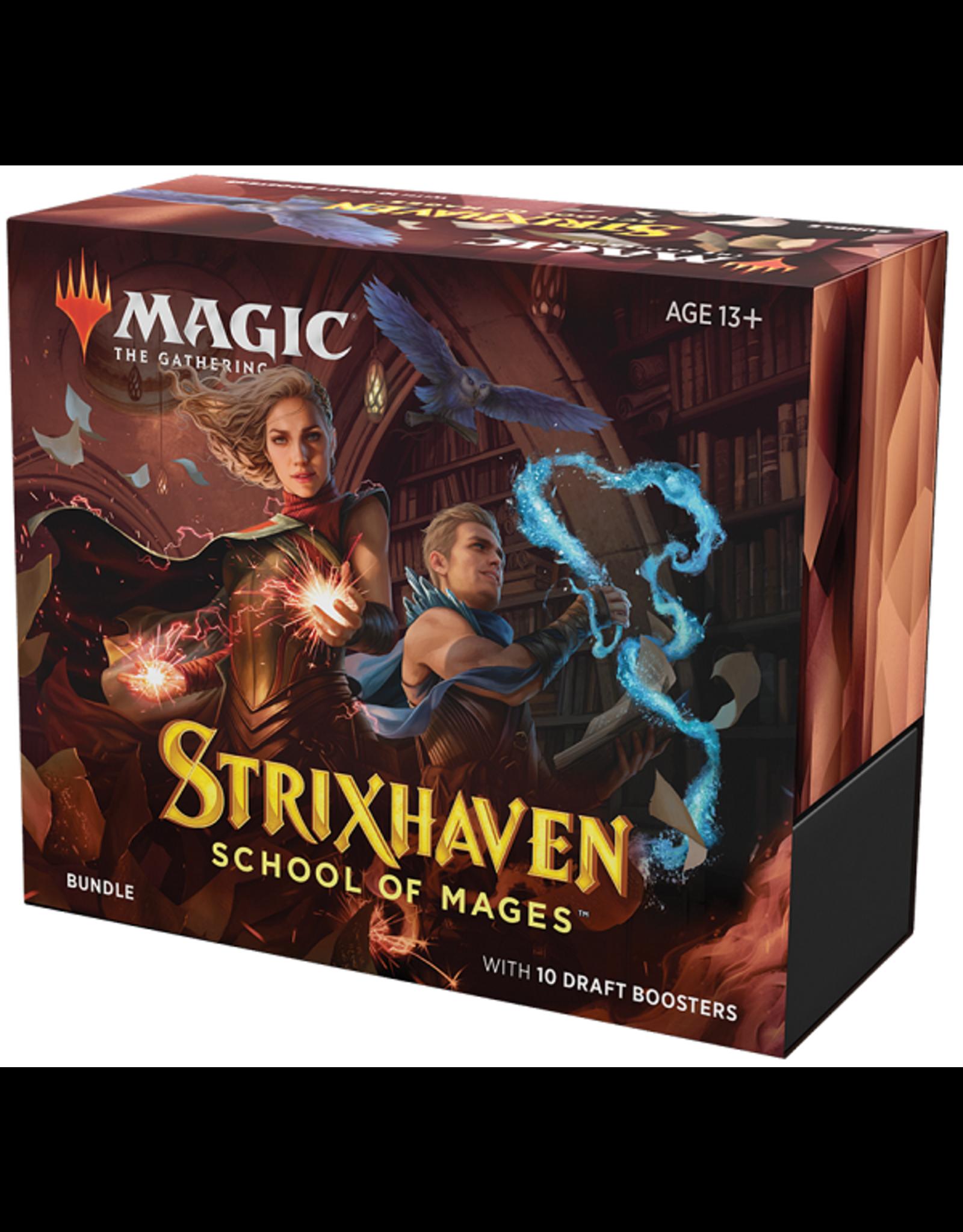Wizards of the Coast Strixhaven Bundle