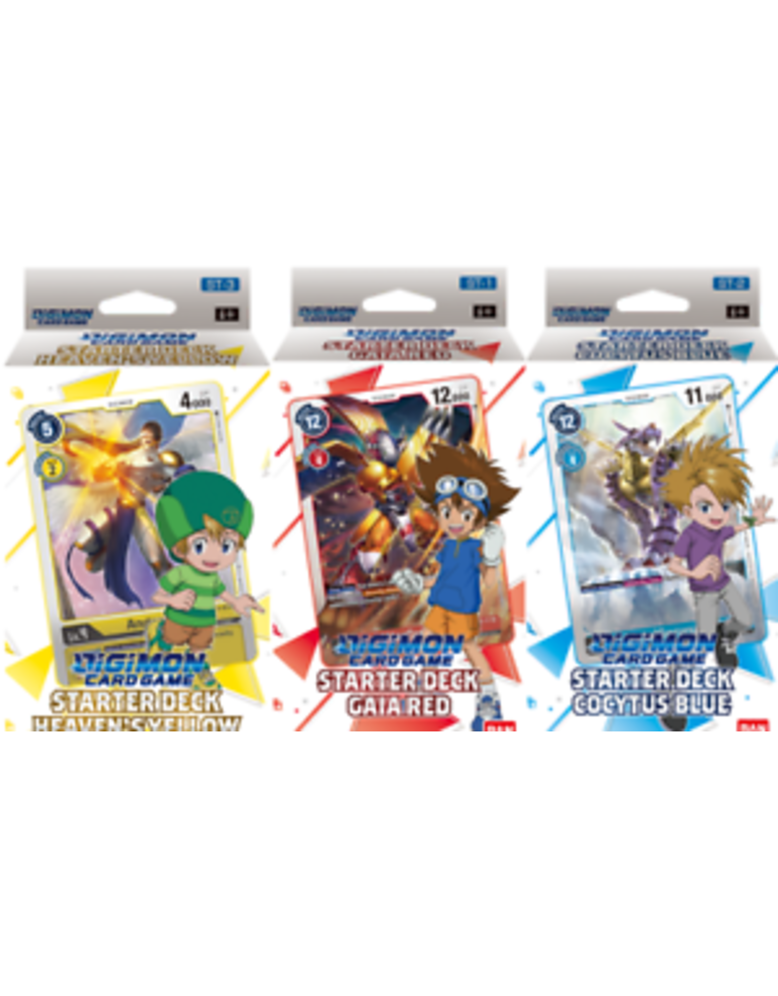 Bandai Digimon Starter Deck: Heaven's Yellow