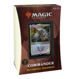 Wizards of the Coast Strixhaven Commander - Silverquill Statement (B/W)