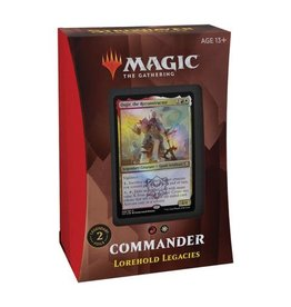 Wizards of the Coast Strixhaven Commander - Lorehold Legacies (W/R)
