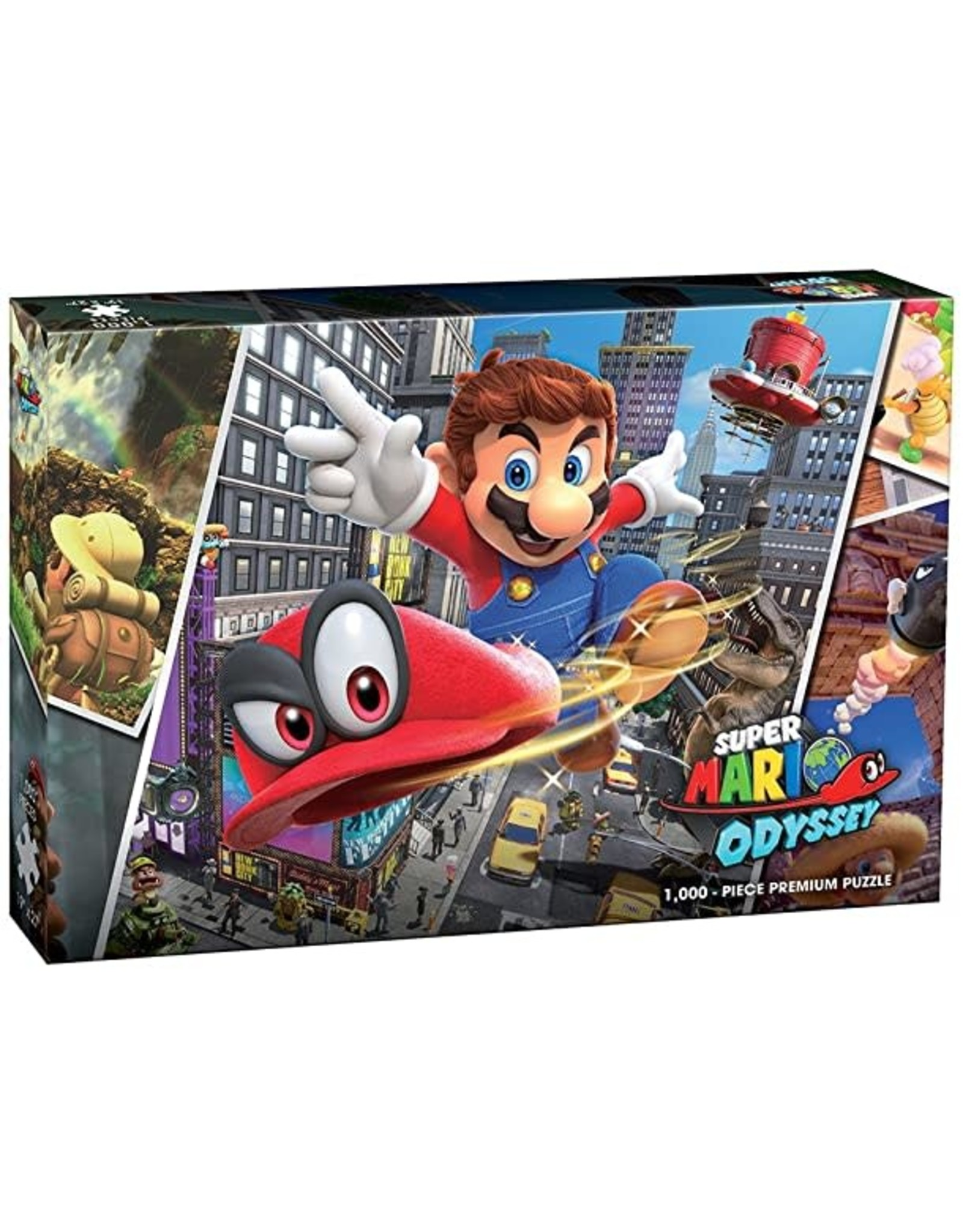 USAopoly Super Mario Odyssey Puzzle - Snapshot 1000 Pcs