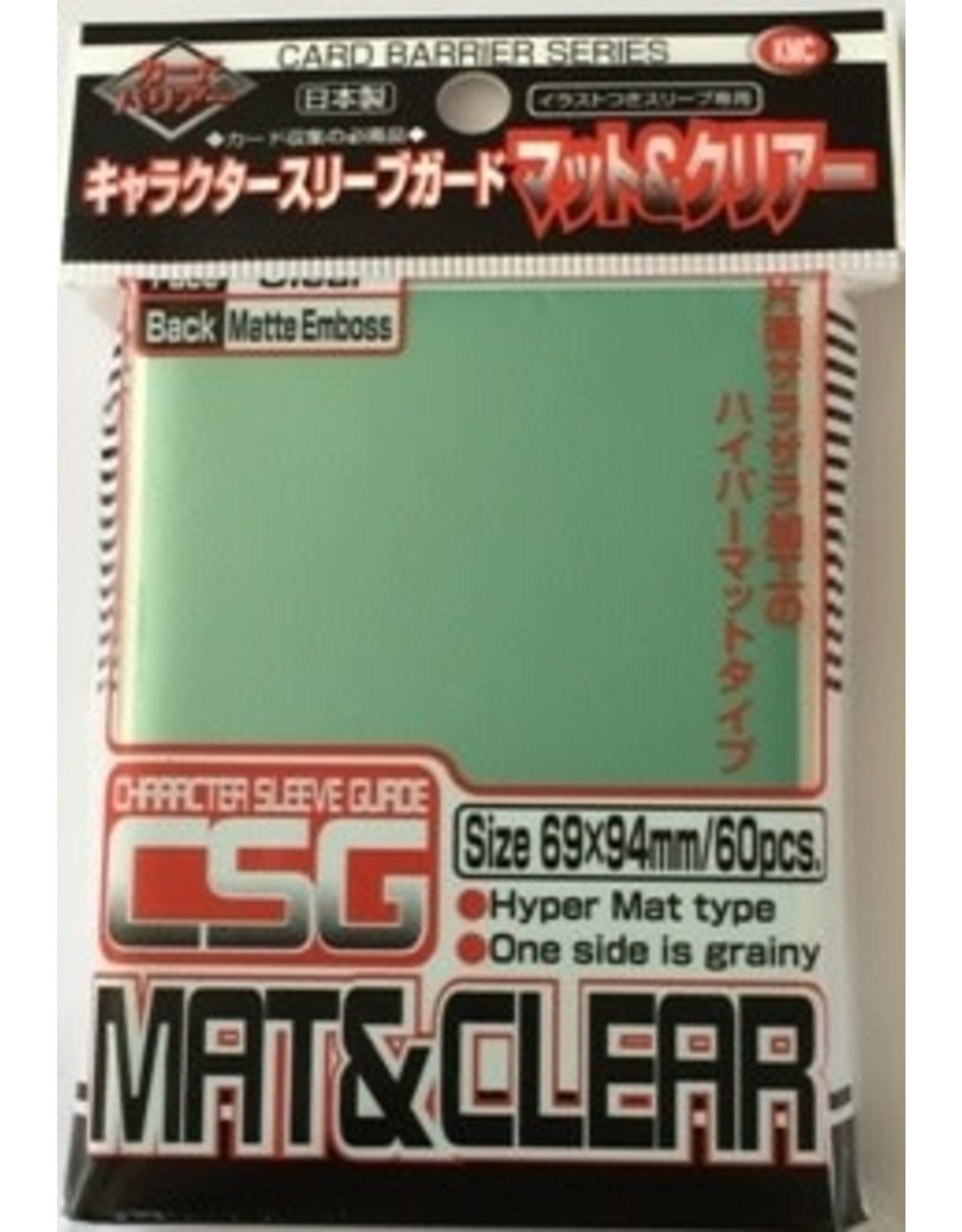 KMC KMC Character Guard Clear Matte 60CT