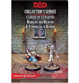 Gale Force 9 Curse of Strahd Minis: Rudolph and Esmerelda