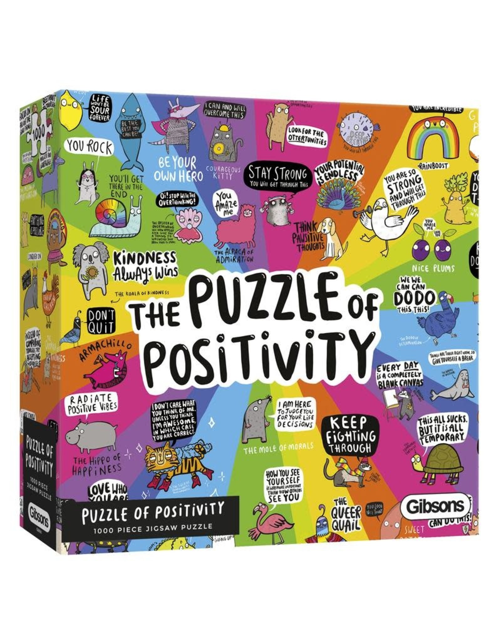 Gibsons Gibsons Puzzle of Positivity 1000 pieces