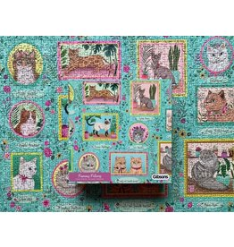 Gibsons Gibsons Famous Felines 1000 pieces
