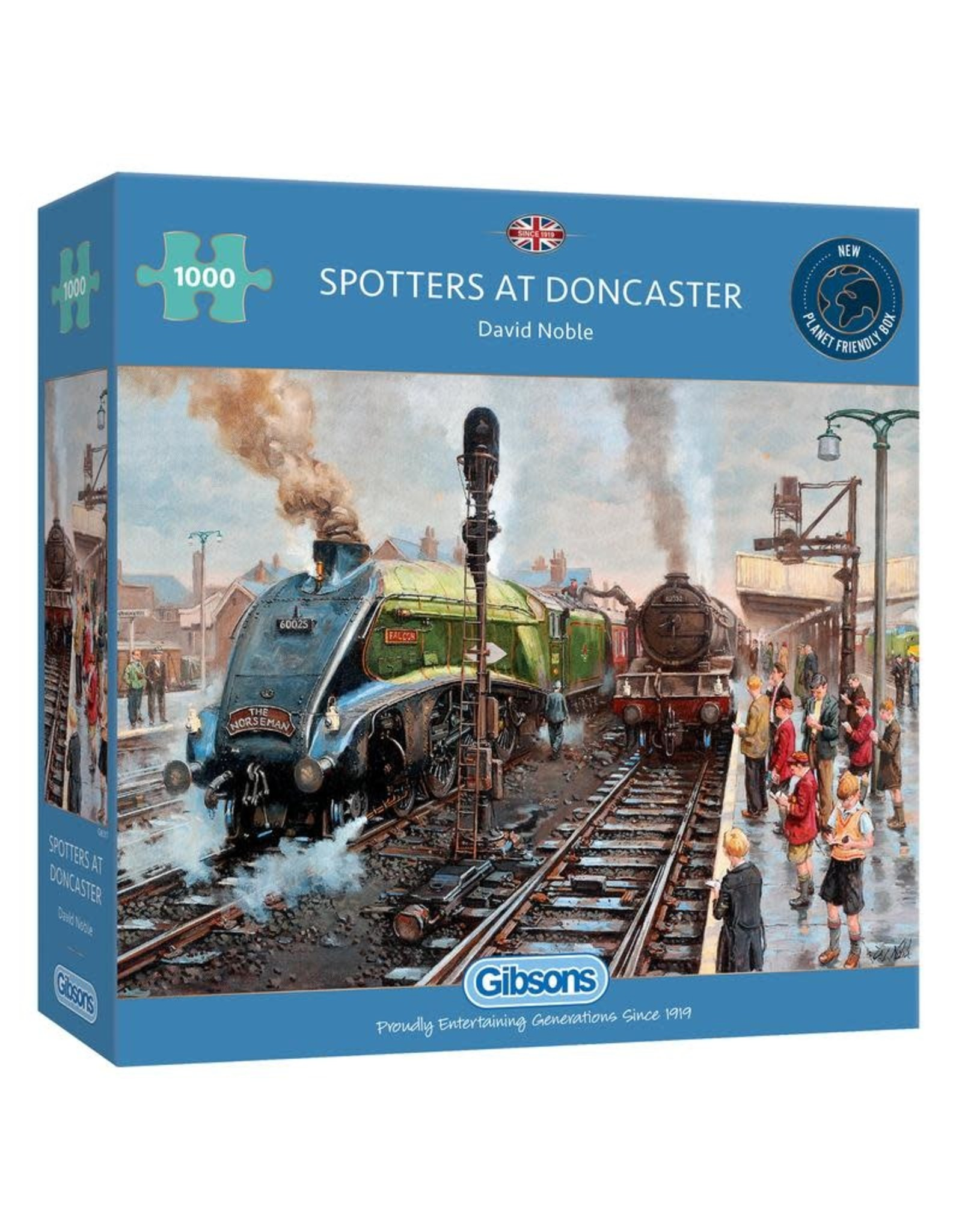 Gibsons Gibsons Spotter's at Doncaster 1000 pieces