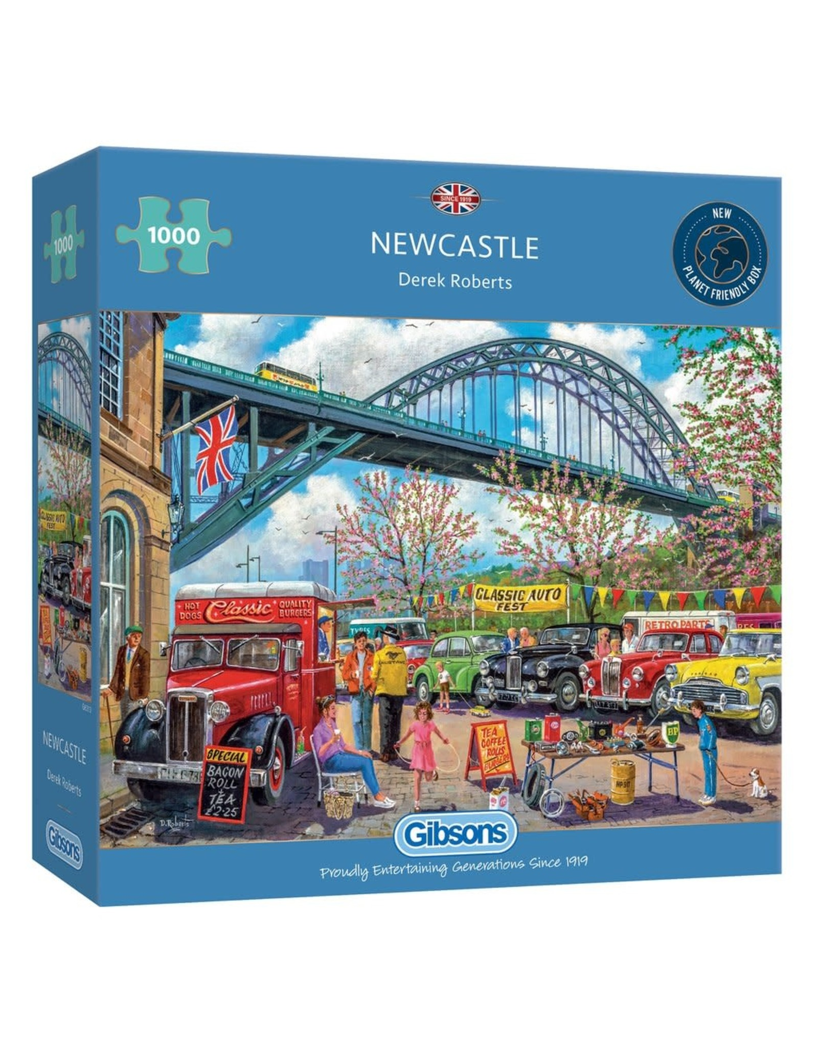 Gibsons Gibsons Newcastle 1000 pieces