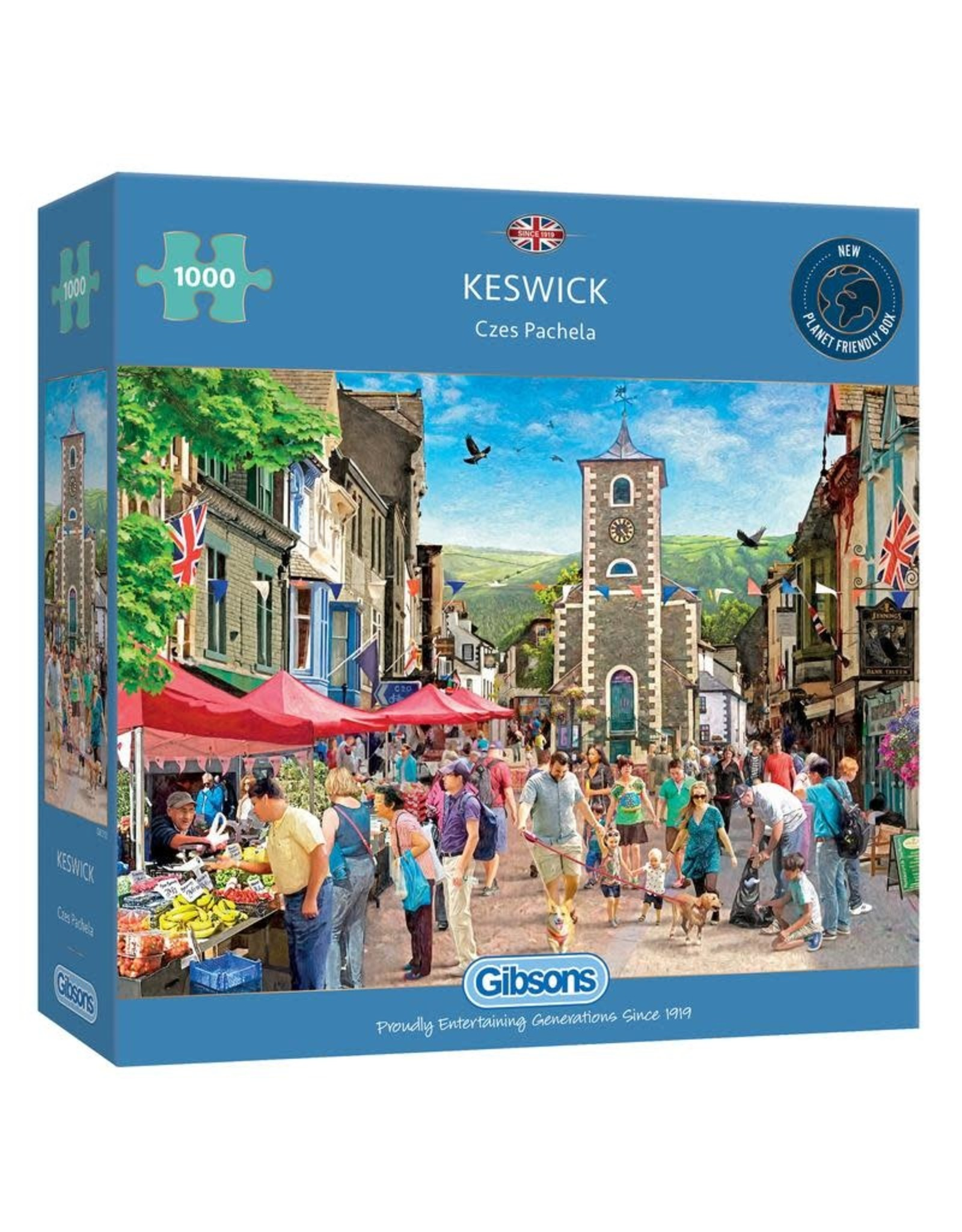 Gibsons Gibsons Keswick 1000 pieces