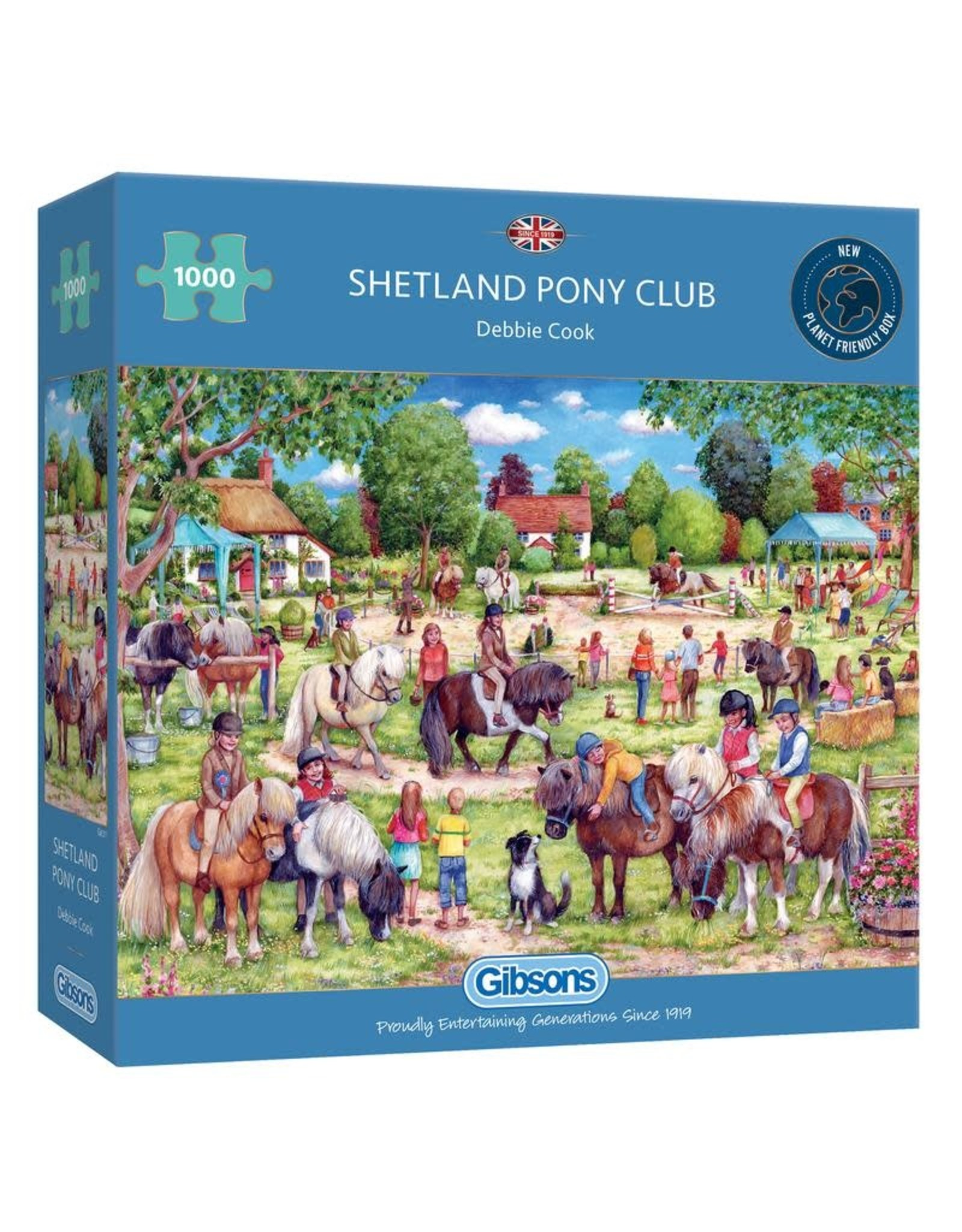 Gibsons Gibsons Shetland Pony Club 1000 pieces