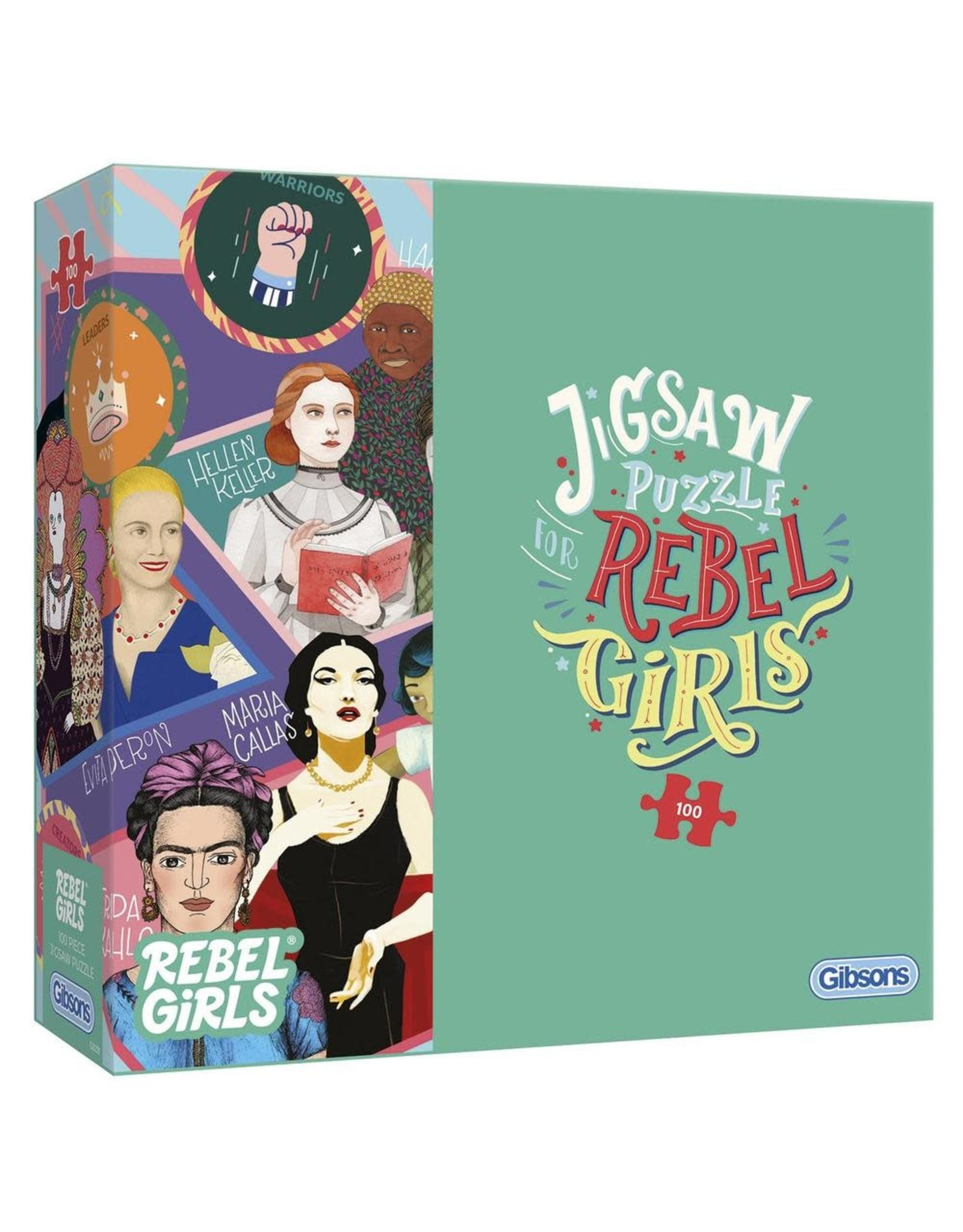 Gibsons Gibsons Rebel Girls 100 Pieces
