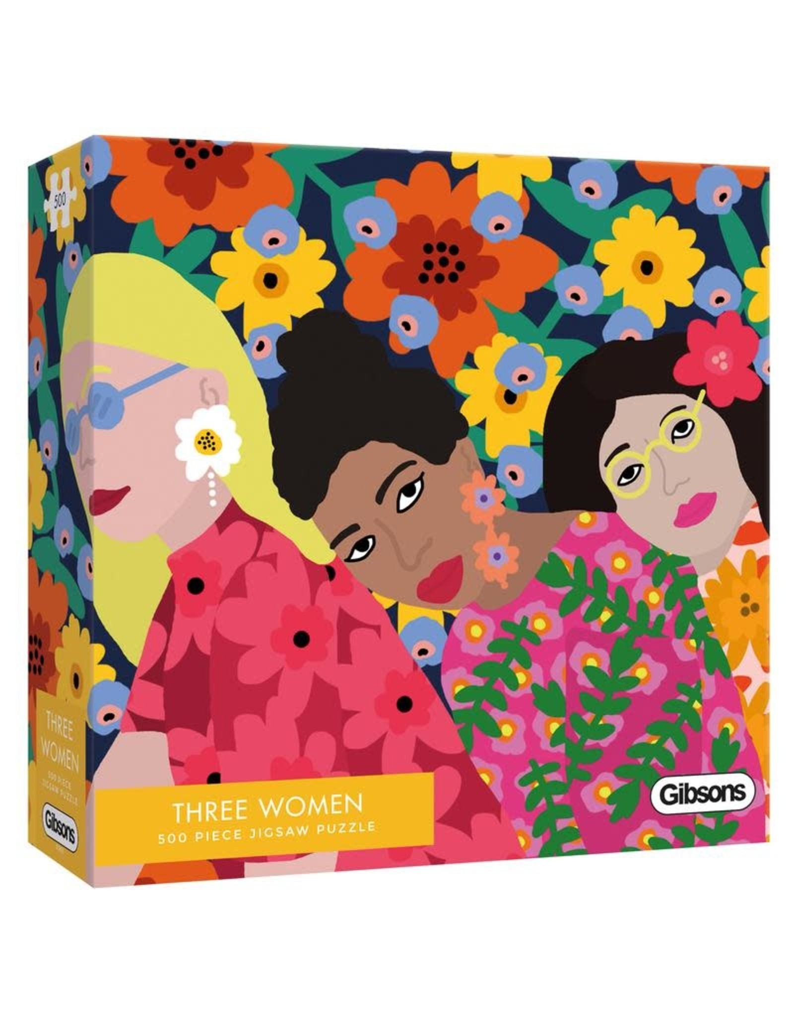 Gibsons Gibsons Three Women 500 Pieces