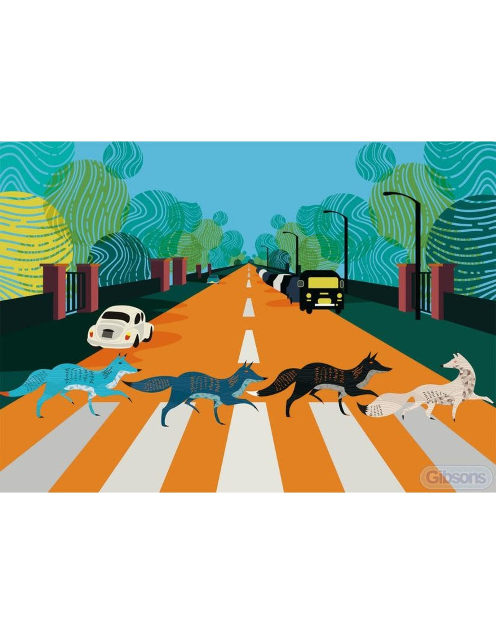 Gibsons Gibsons Abbey Road Foxes 500 Pieces