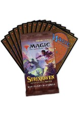 Wizards of the Coast Strixhaven Japanese Set Booster Pack