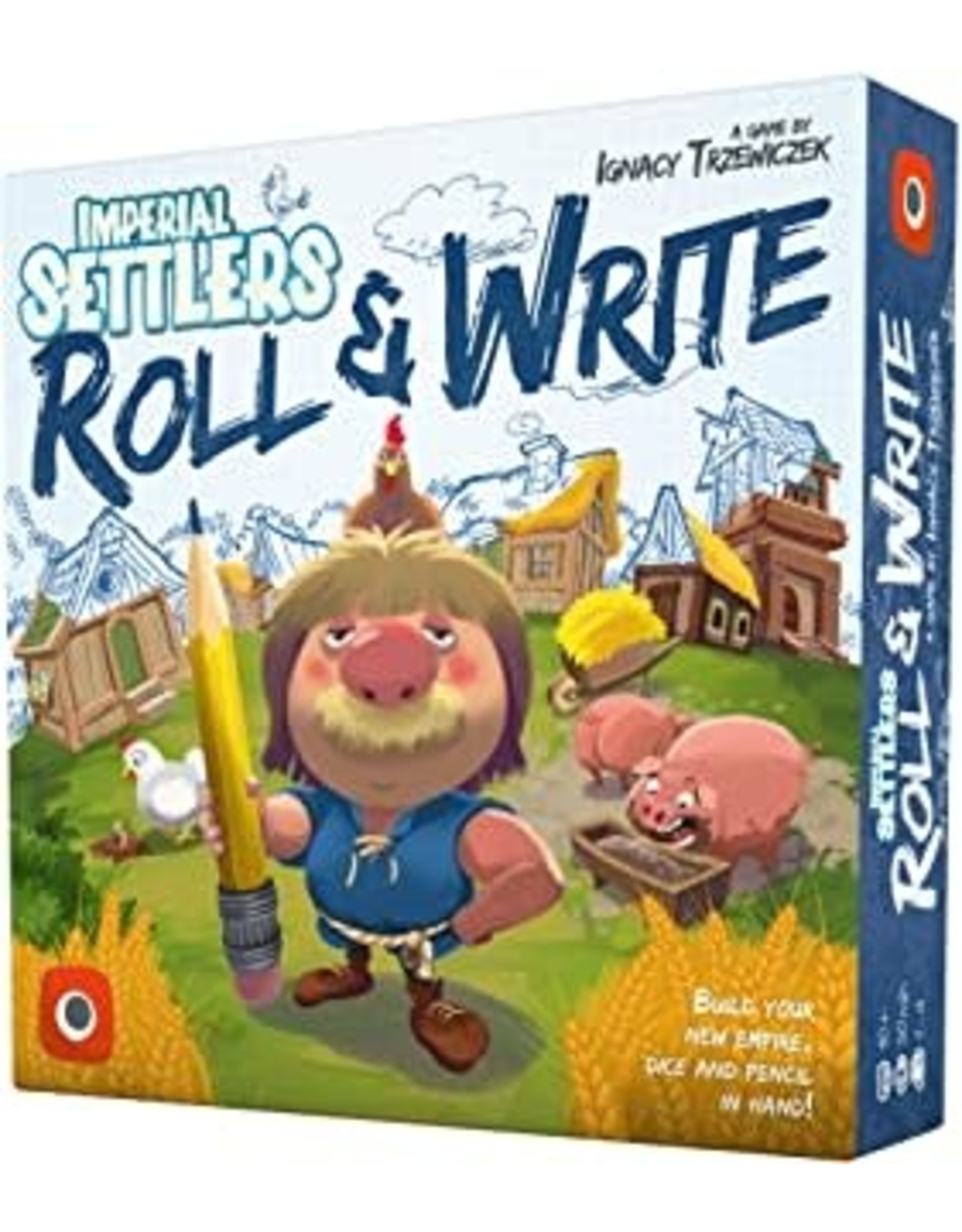 Portal Games Imperial Settlers - Roll & Write
