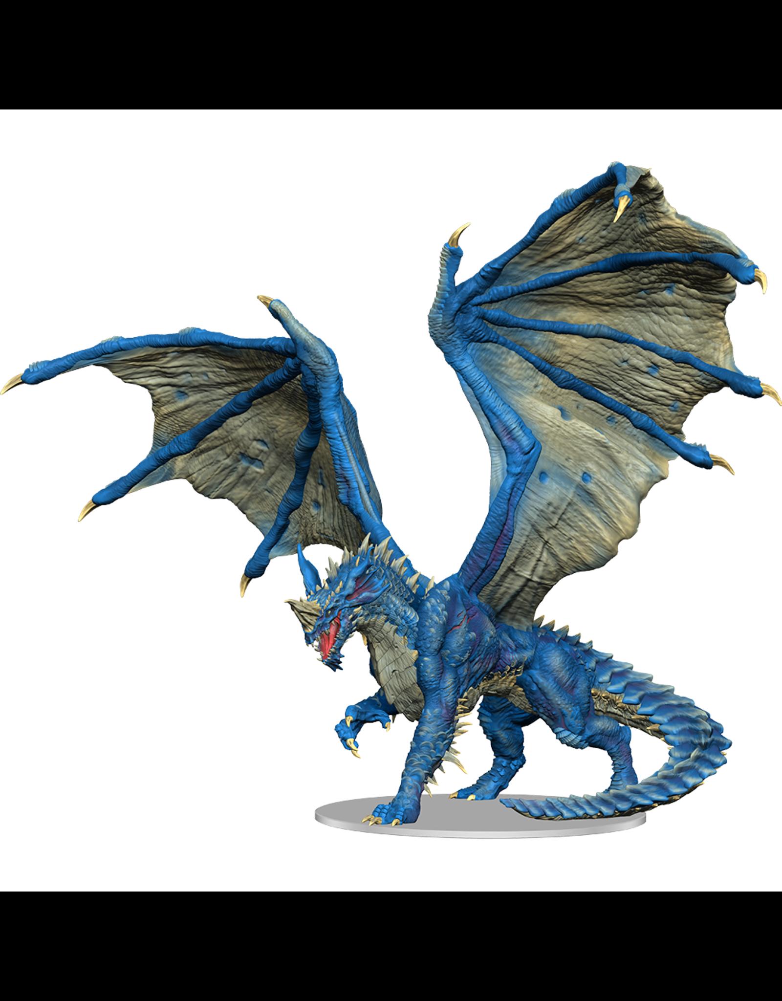 WizKids DnD Icons: Adult Blue Dragon Premium