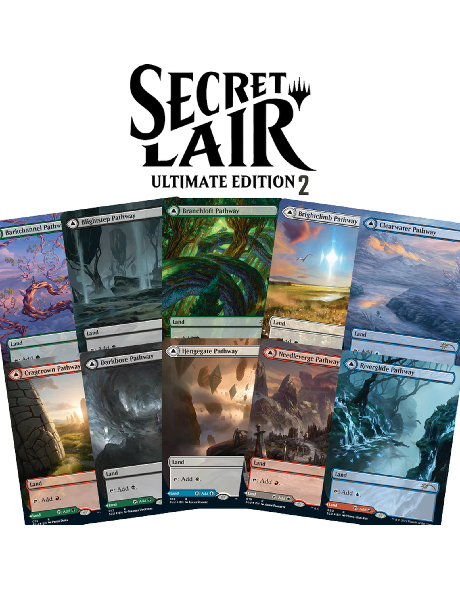 Wizards of the Coast MTG Secret Lair Drop Ultimate Edition 2