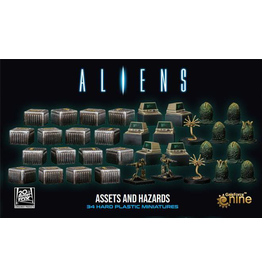 Gale Force 9 Aliens: Assets and Harzards 3D Gaming Set