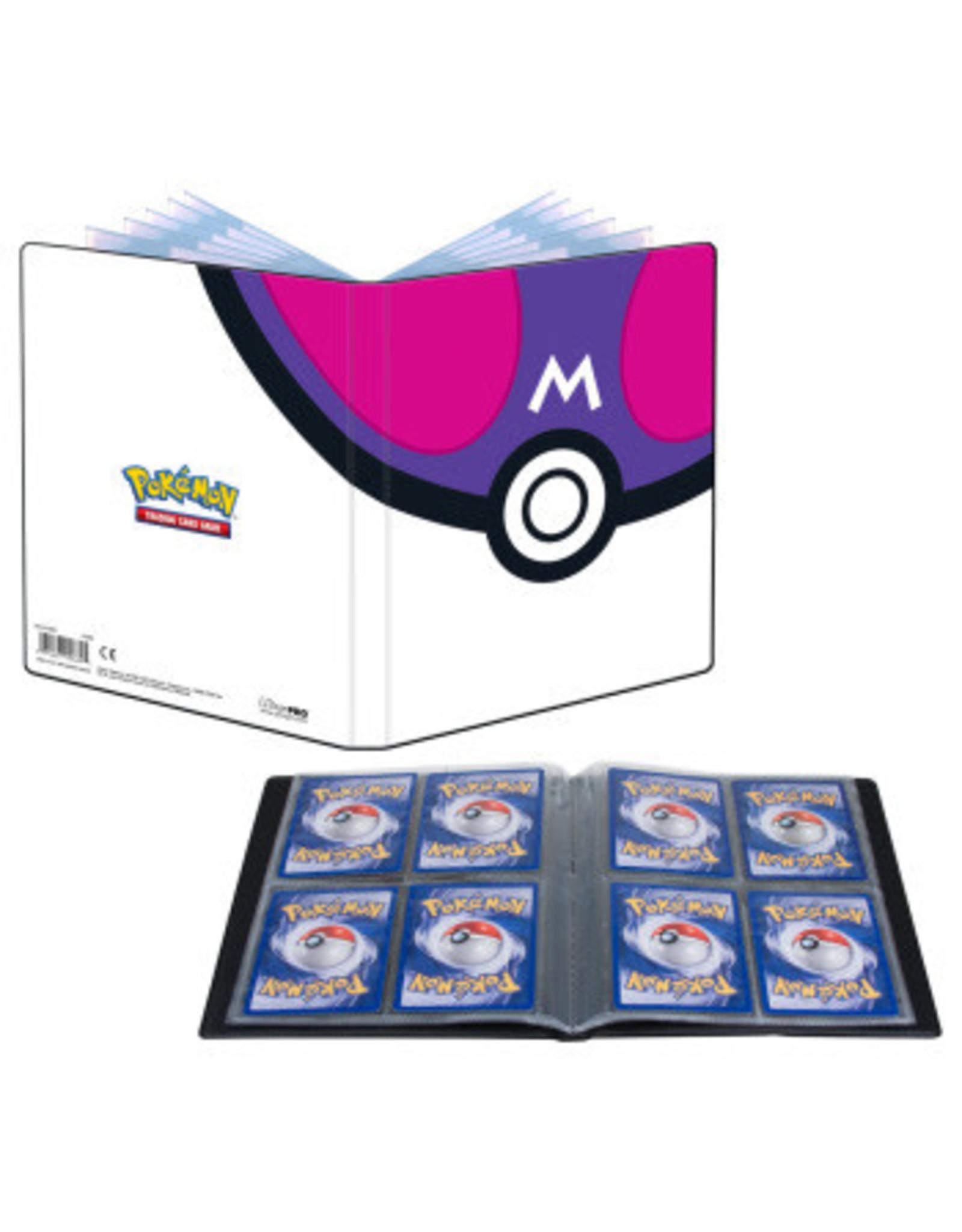 Ultra Pro Ultra Pro Binder 4Pkt Pokemon MasterBall