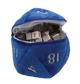 Ultra Pro Dice Bag Blue D20 Plush