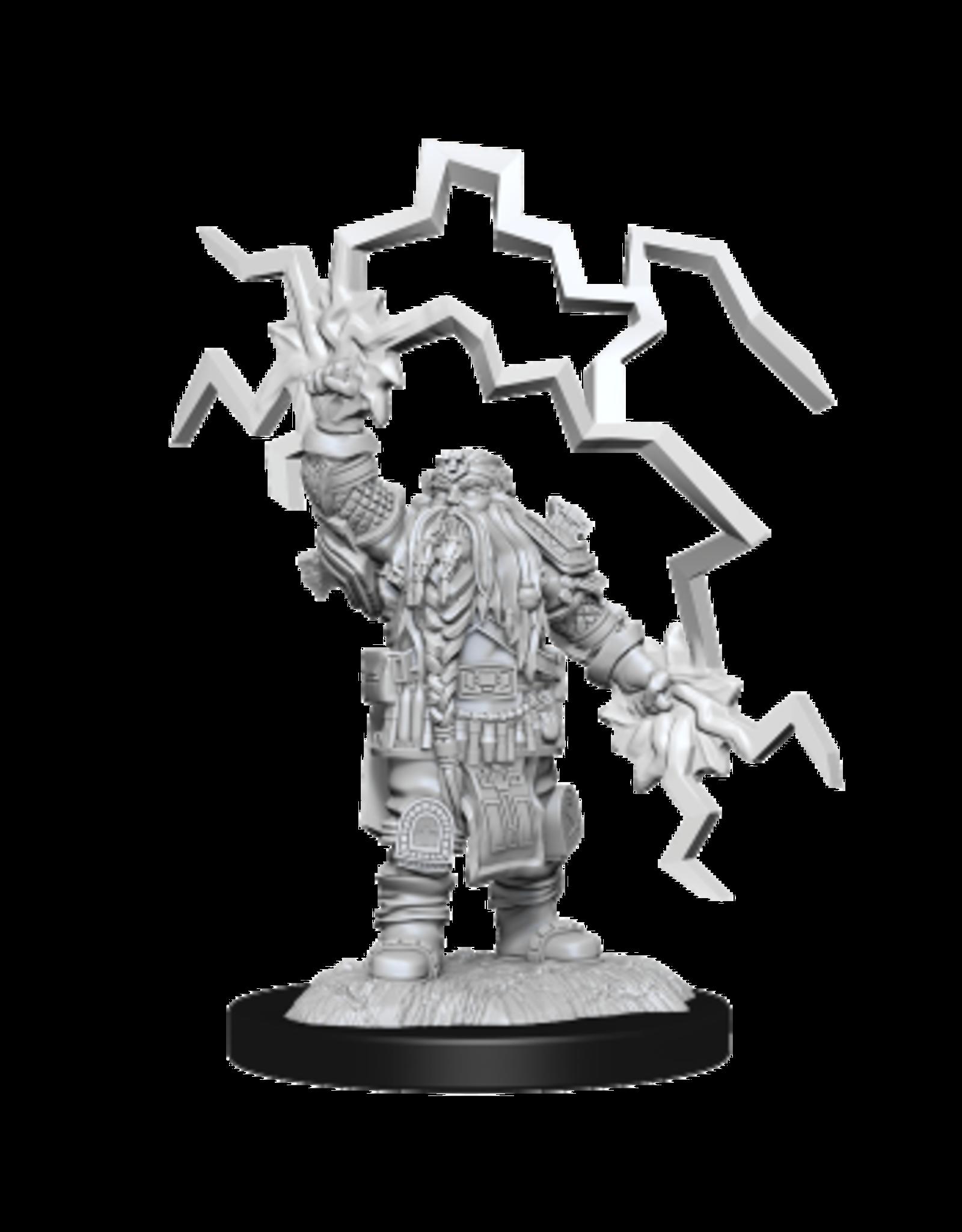 WizKids Male Dwarf Cleric- Wave 14