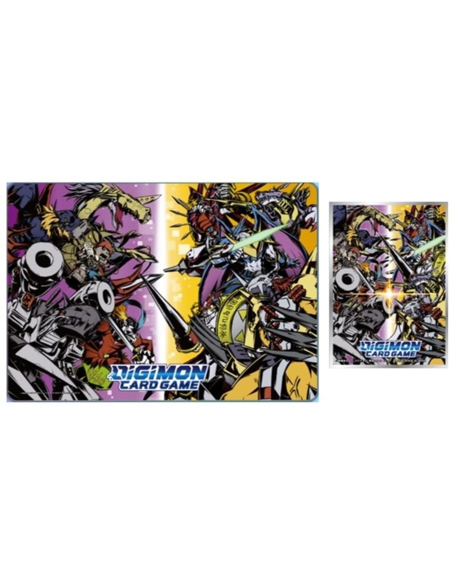 Bandai Digimon Tamer's Set - Exclusive Playmat and Sleeves