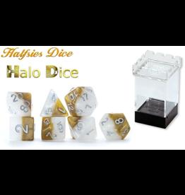 Halfsies Halfsies Dice - Halo Dice 7-Die Set
