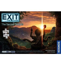 Thames & Kosmos Exit the Game: The Sacred Temple (With Puzzle)