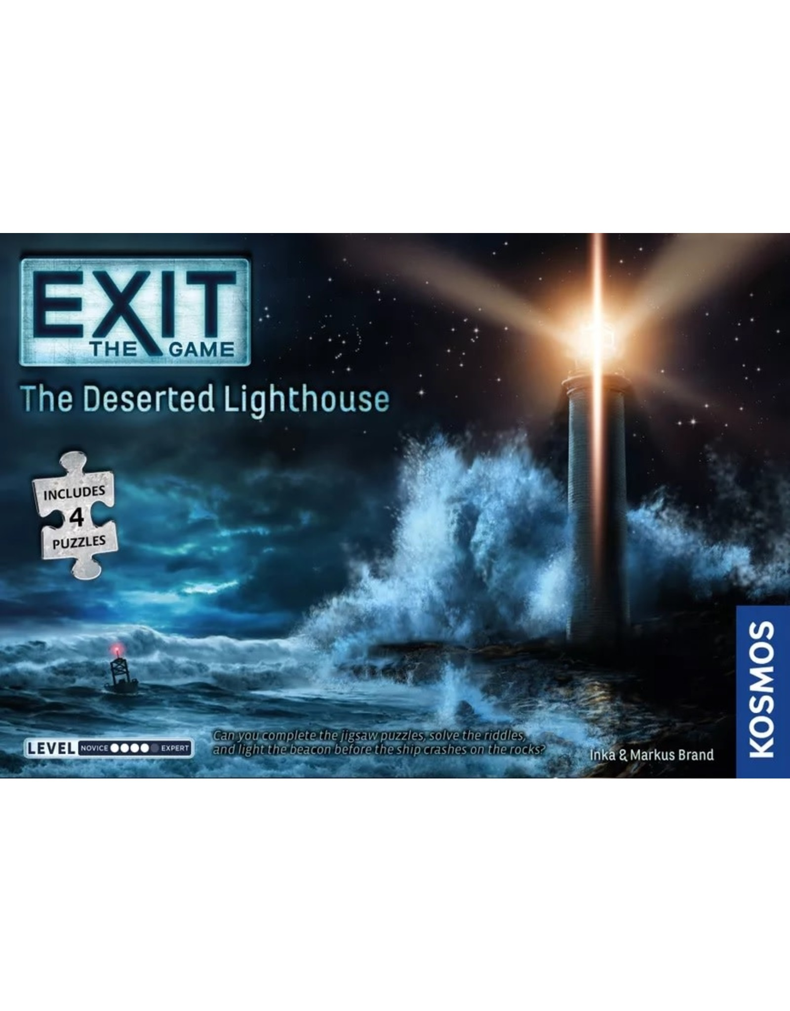 Thames & Kosmos Exit the Game: The Deserted Lighthouse (With Puzzle)