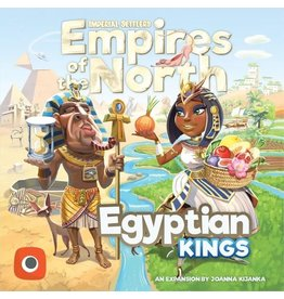 Portal Games Imperial Settlers of the North Expansion  - Egyptian Kings