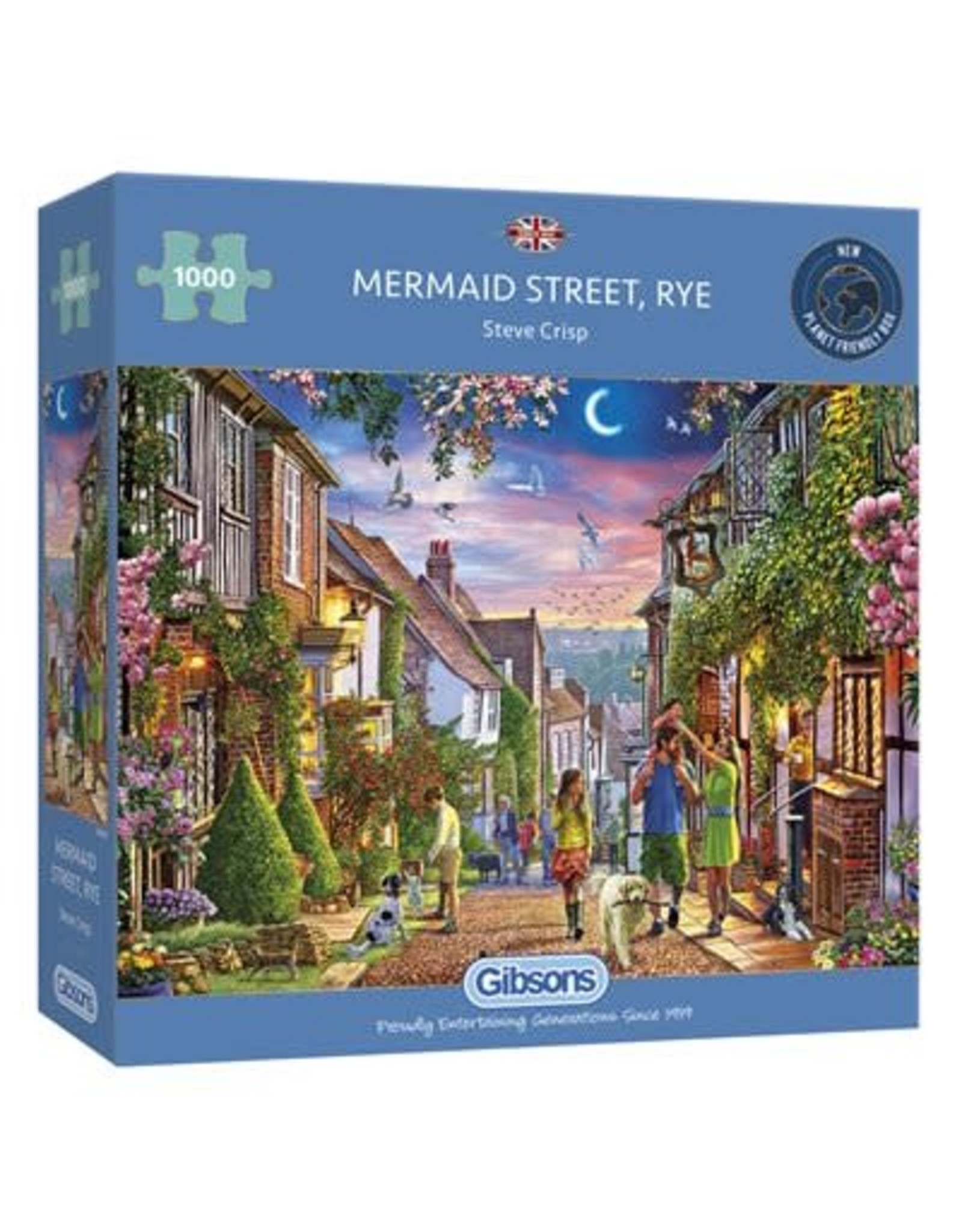 Gibsons Gibsons Puzzle - Mermaid Street, Rye 1000 Pieces