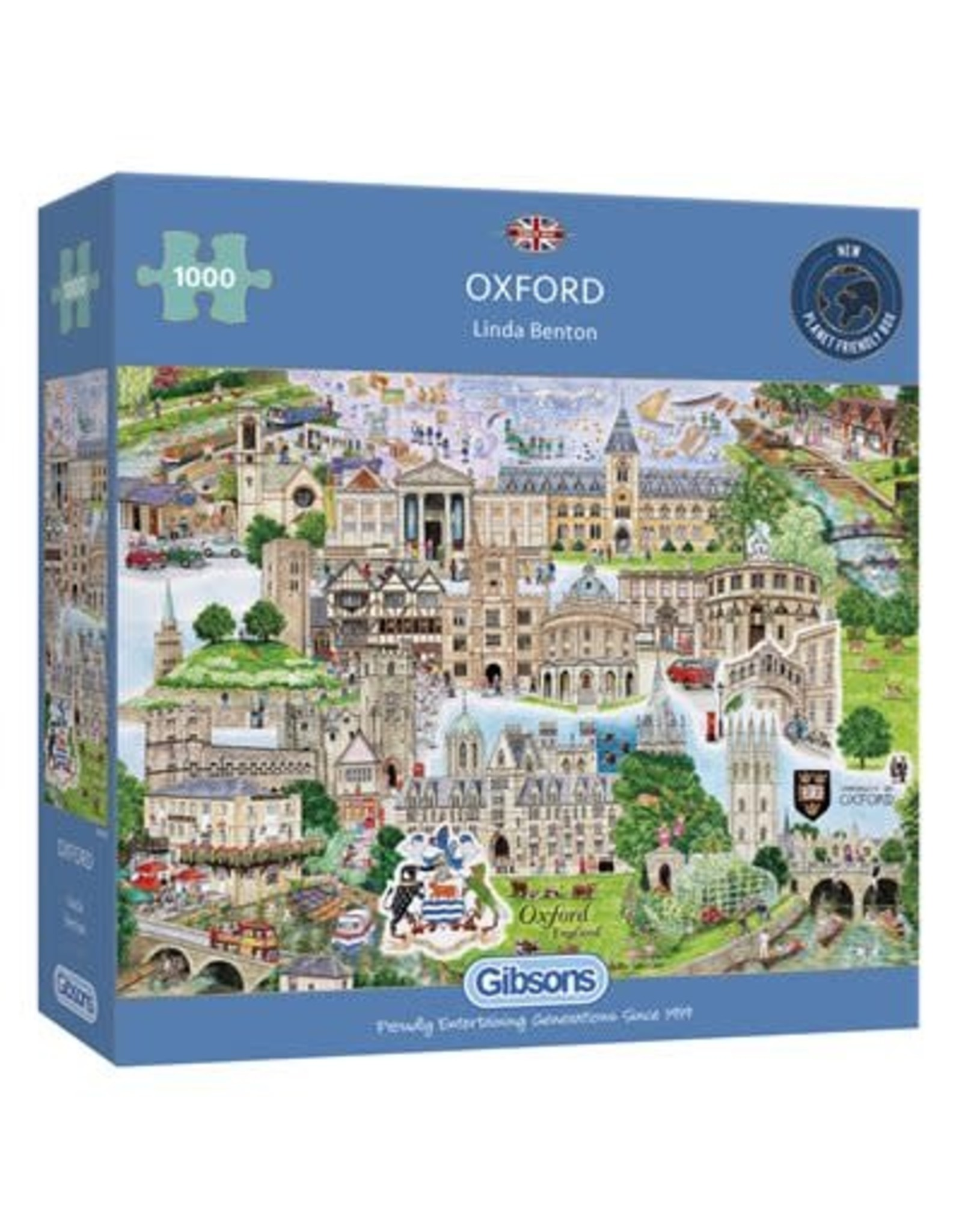 Gibsons Gibsons Puzzle - Oxford 1000 Pieces