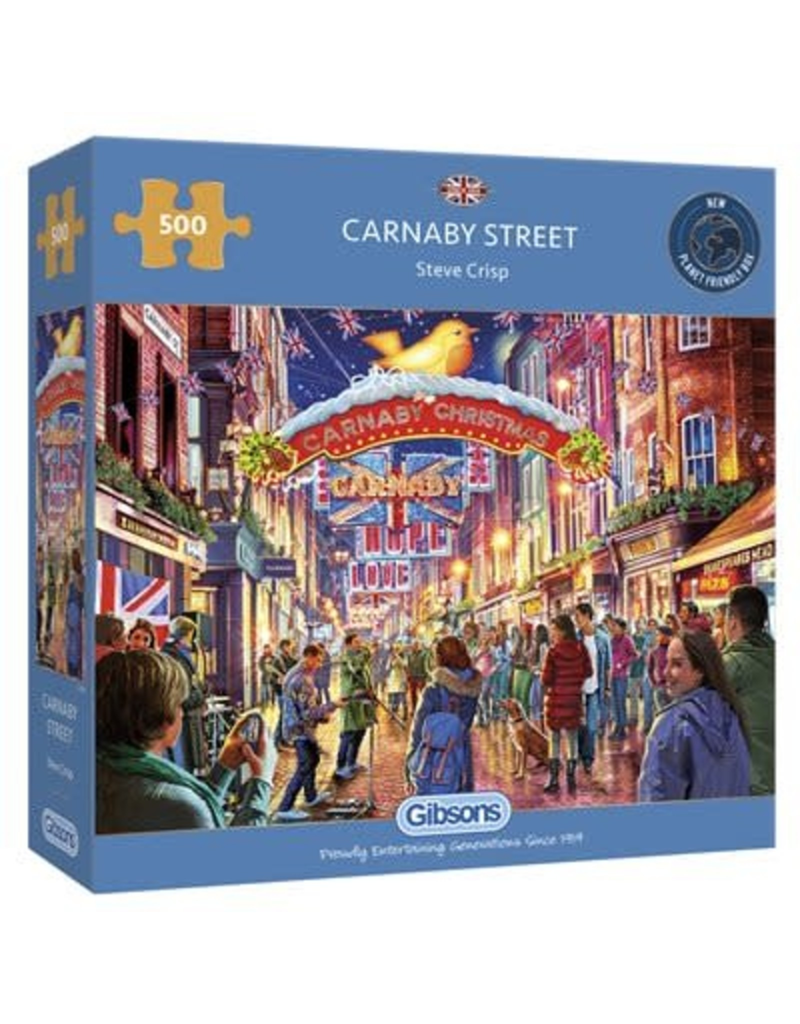 Gibsons Gibsons Puzzle - Carnaby Street 500 Pieces