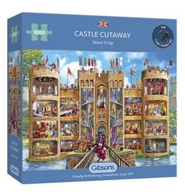 Gibsons Gibsons Puzzle - Castle Cutaway 1000 Pieces