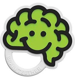 Fat Brain Toys Brain Teether - Green