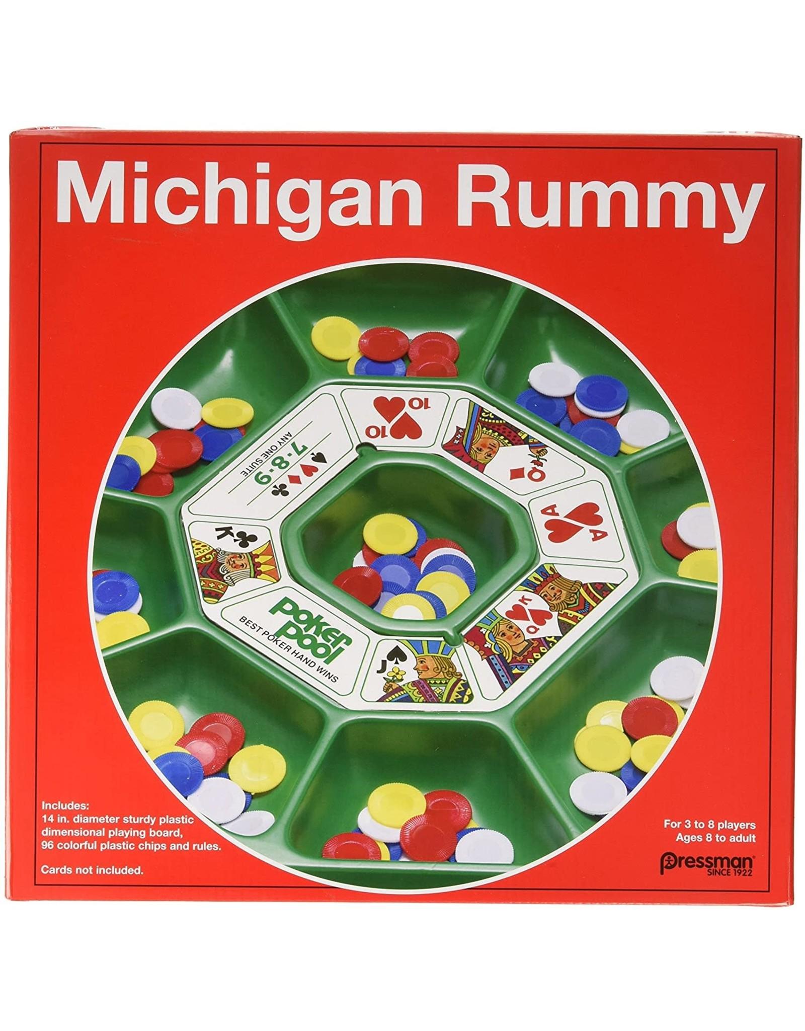 Press Man Michigan Rummy