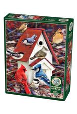 Cobble Hill Winter Birdhouse 1000 PC