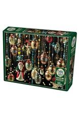 Cobble Hill Christmas Ornaments 1000 PC